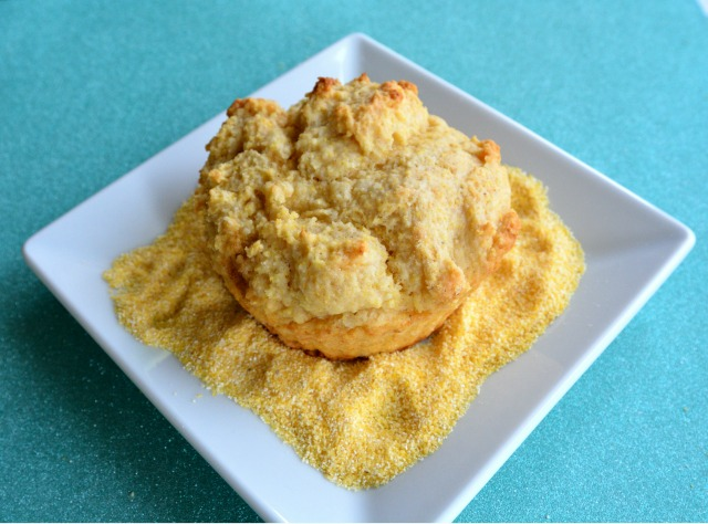 Jumbo Crumbly Corn Muffin 2