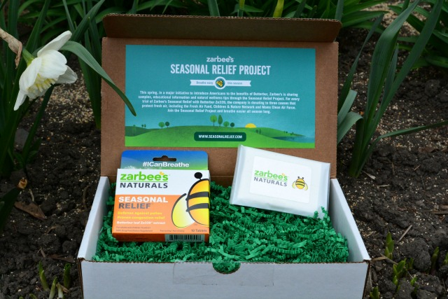 Zarbee's Naturals Seasonal Relief Box Crop