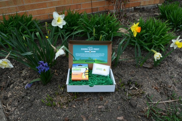 Zarbee's Naturals Seasonal Relief Flowerbed