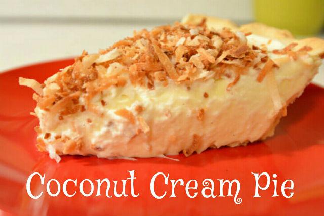 Coconut Cream Pie Pin