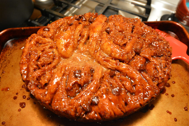 Crock Pot Samoas Schnecken