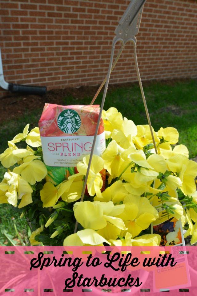 Starbucks Spring Blend Pin