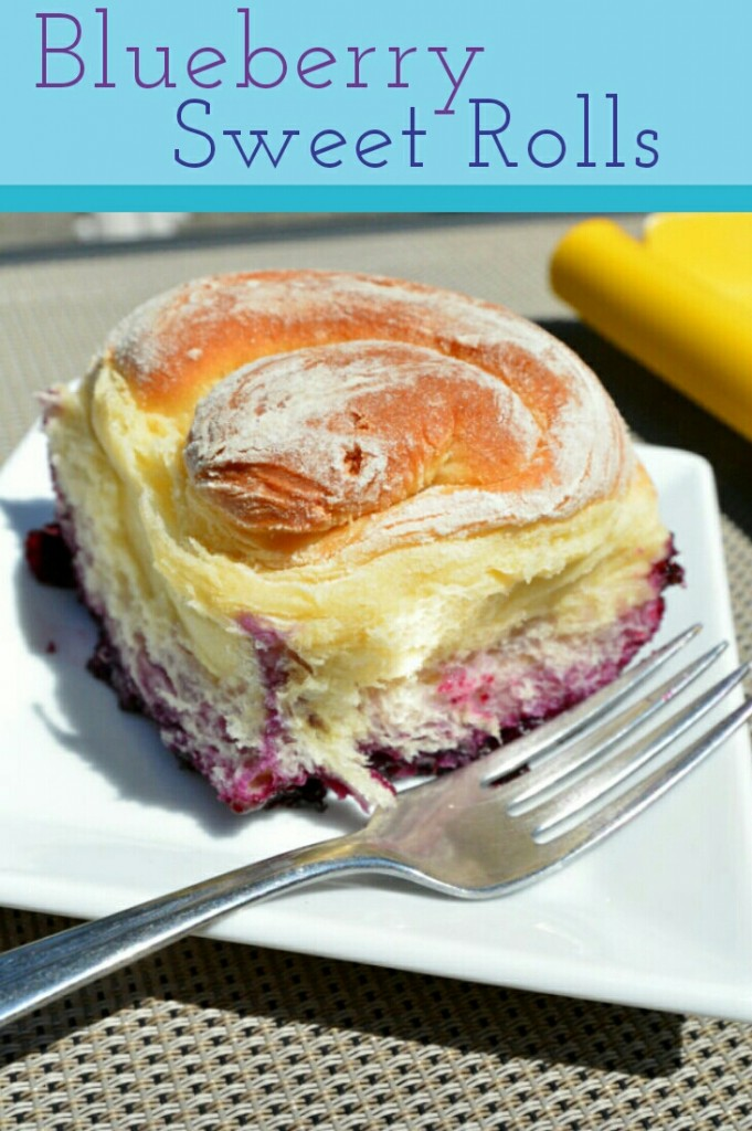 Blueberry Sweet Rolls Pin