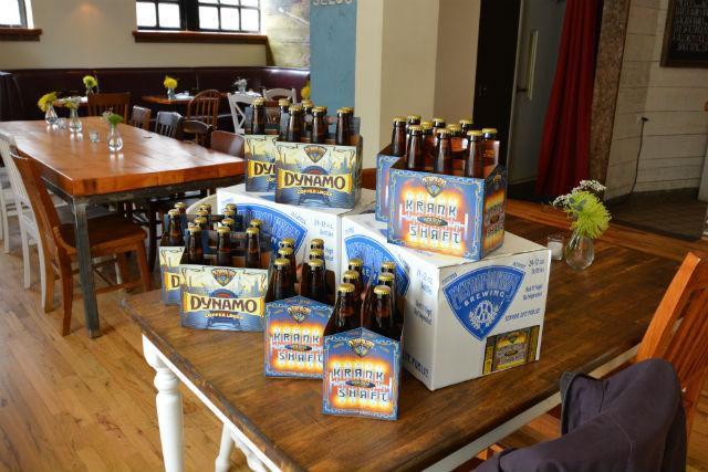 Metropolitan Brewing April Food Swap