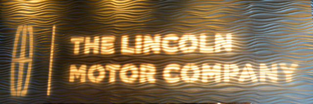 Lincoln Motor Company Lighted Logo