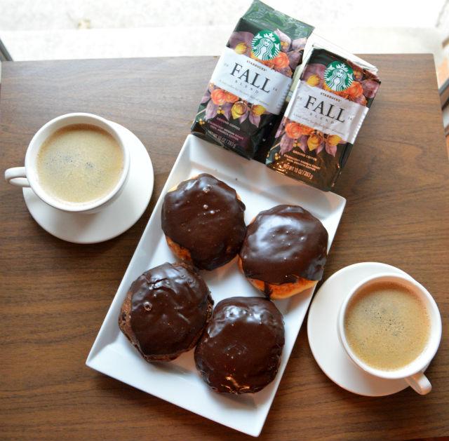 Starbucks 2014 Fall Blend Donuts