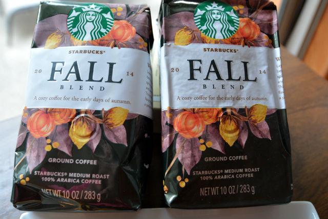 Starbucks Fall Blend 2014