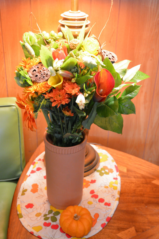 Flowers for Dreams Fall Vase