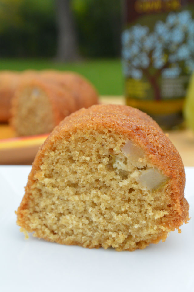 Ginger Pear Bundt Cake Olive Oils of Spain