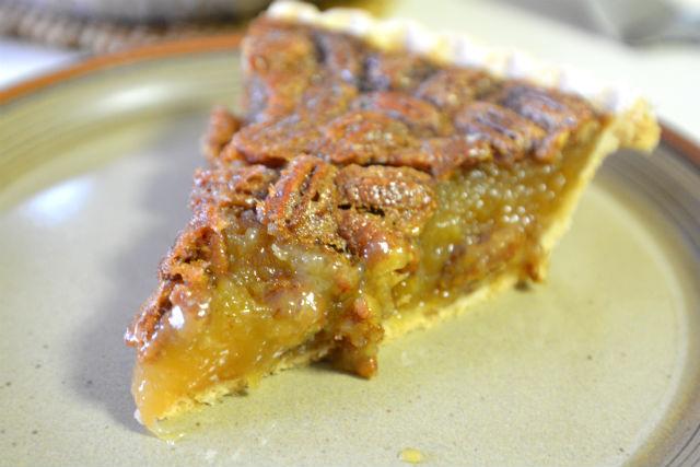 Honeybaked Ham pecan pie slice