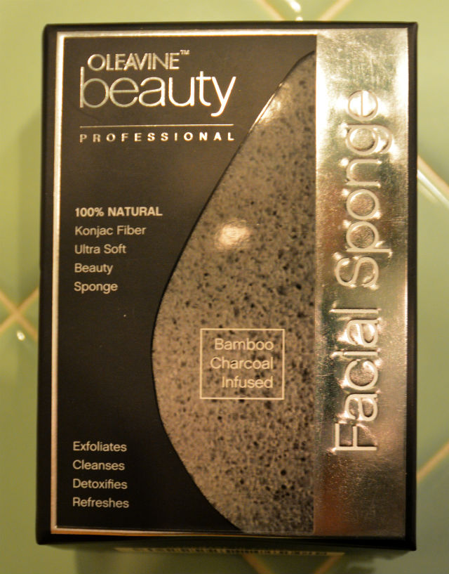 Oleavine Beauty Konjac Charcoal Sponge