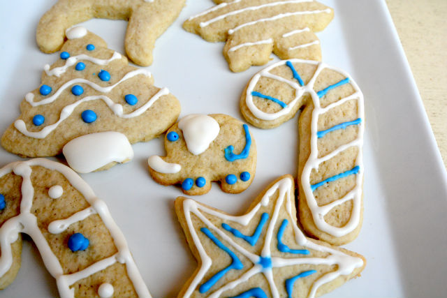Oatmeal Sugar Cookie Closeup