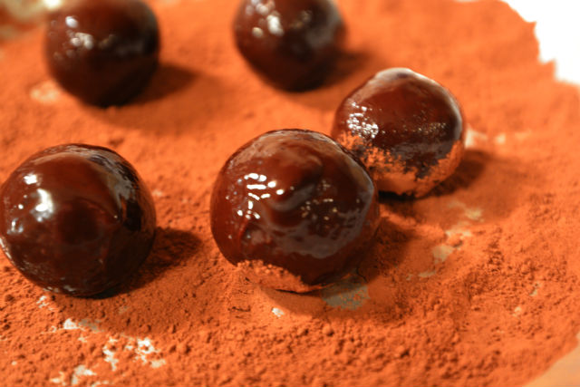 Templeton Rye Whiskey Truffles Naked