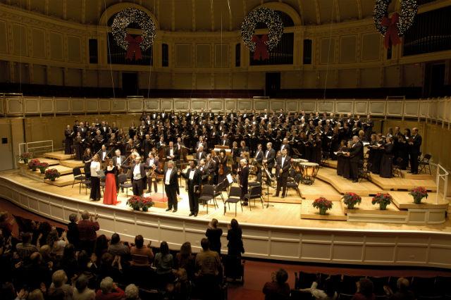 The Apollo Chorus in concert