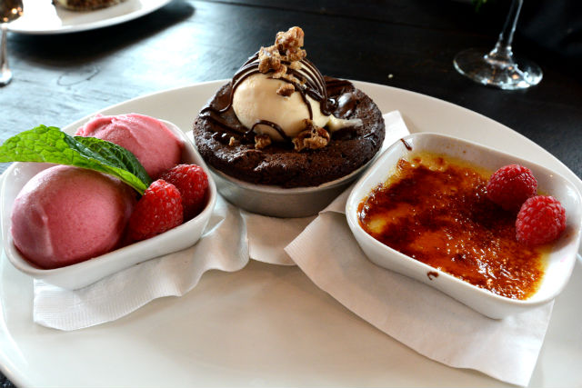 Granite City Dessert Trio