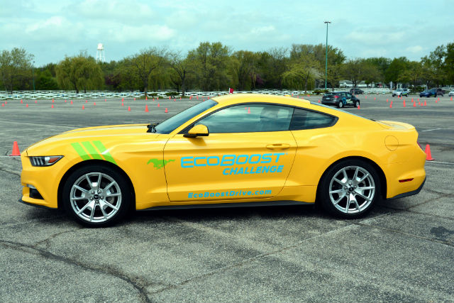 2015 Ford Mustang EcoBoost Challenge