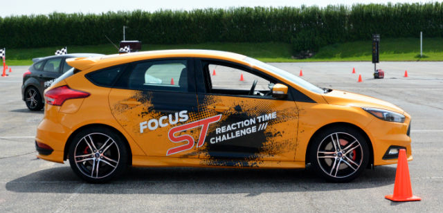 Ford Focus ST EcoBoost Challenge