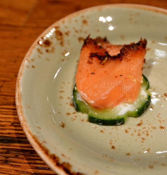 Countyline Tavern Ducktrap Smoked Pastrami Salmon