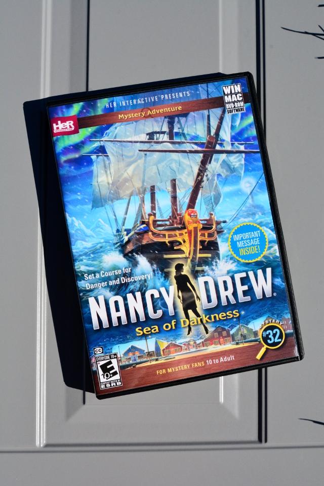 Nancy Drew Sea Of Darkness